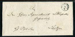Preussen / Vorphila-Briefhuelle K1-Fingerhut-Stempel WIDMINNEN (13259) - ...-1849 Vorphilatelie