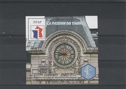 Feuillet FFAP N° 6 La Passion Du Timbre 85 è Congrès Paris 2012 - FFAP