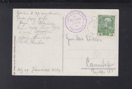 KuK AK Zürssee 1909 Post-Ablage - 1850-1918 Empire