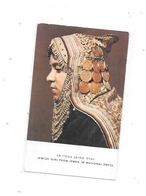 JEWISH GIRL FROM JEMEN IN NATIONAL DRESS, - Judaisme
