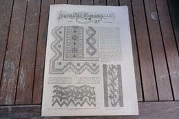 Revue-journal Des Demoiselles 2 Rue Drouot Paris 1°cahier Janvier 1882-8 Pages - Cross Stitch