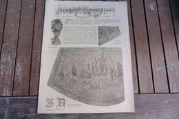 Revue - Journal Des Demoiselles 2 Rue Drouot Paris -6°album Juin 1884 - 8 Pages - - Cross Stitch