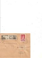 Lettre Recommandée Brive  A Meynac 1942 - Marcophilie (Lettres)