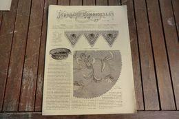 Revue - Journal Des Demoiselles 2 Rue Drouot Paris -7°album Juillet 1883 - 8 Pages - - Cross Stitch