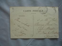 Saint Nom La Breteche Cachet Perle Facteur Boitier Obliteration Sur Lettre - 1877-1920: Période Semi Moderne