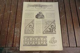 Revue - Journal Des Demoiselles 2 Rue Drouot Paris -10°album Octobre 1883 - 8 Pages - - Cross Stitch
