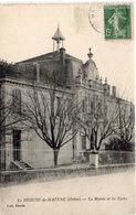LA BEGUDE DE MAZENC - La Mairie Et Les Ecoles (113652) - Autres Communes