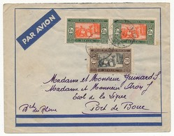 SENEGAL - Belle Enveloppe Affr. Composé - Dakar Sucoursale 1938 - Senegal (1887-1944)