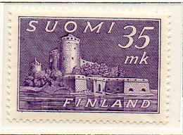 PIA - FINLANDIA - 1949  : Castello Di Olivinlinna -   (Yv   344) - Castelli
