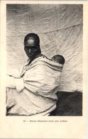 AFRIQUE - ETHIOPIE --  Dame Abyssine Avec Son Enfant - Ethiopie