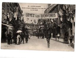 LUXEUIL LES BAINS FESTIVAL DE MUSIQUE COMMERCES TRES ANIMEE - Luxeuil Les Bains