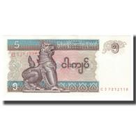 Billet, Myanmar, 5 Kyats, KM:70a, SPL - Myanmar