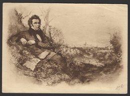 Bel Entier Postal Carte Illustrée Neuve, Commémorative De Franz SCHUBERT - Musique