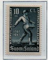 PIA - FINLANDIA - 1947  : 150° Anniversario Della Società Di Agricoltura -   (Yv   332) - Unused Stamps