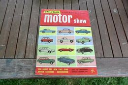 Daily Mail Review Of The 1961 Motor Show - Examen De Daily Mail Du Salon Automobile 1961 - Books, Magazines, Comics