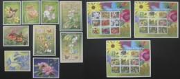CONGO Collection Papillon 12 Blocs Timbres Neufs Papillons Butterflies Butterfly MNH Stamps - Neufs