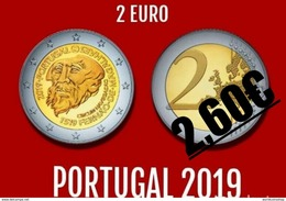 WC - Portugal 2 Euro CC 2019 - 500Anniversary Fernão Magalhães Navigation - New - Portugal