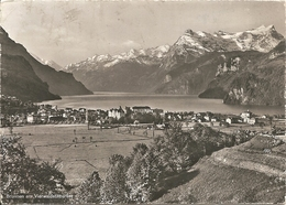 BRUNNEN AM VIERWALDSTATTERSEE - VIAGGIATA 1961 - (rif. L19) - SZ Schwyz