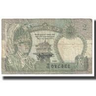 Billet, Népal, 2 Rupees, KM:29b, TB - Nepal