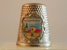 """Dé A Coudre En Métal """" Heiligenkreuz"""" - Dés à Coudre"""