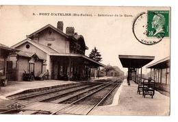 PORT D ATELIER L INTERIEUR DE LA GARE - Other Municipalities