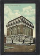 CPA Franc Maçonnerie Loge Temple Masonic Maçonnique Brooklyn Non Circulé - Philosophy