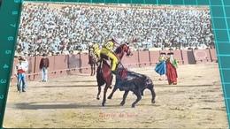 Bullfighting ~ Suerte De Vara ~ Matadors ~ Bull - Corrida