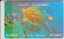 #09 - COMOROS - TURTLE - Comoros