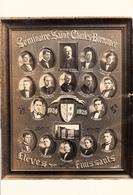 Real Photo Véritable - Sherbrooke Québec - Séminaire Saint-Charles-Borromée - Finissants 1924-1925 - 2 Scans - Sherbrooke