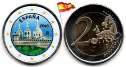 Espagne - 2 Euro 2013 - (El Escorial - Colorée) - Espagne