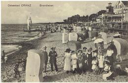 Ostseebad CRANZ - Zelenogradsk - Зеленоградск - Strandleben - Deutsche Feldpost 1915 - Ostpreussen