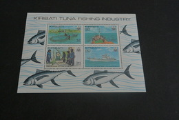 M6231  - Bloc MNH Kiribati 1981 - Tuna Fishing Industry - Kiribati (1979-...)