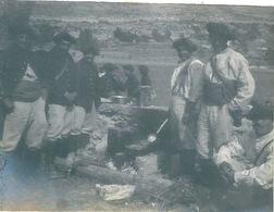 Photo Originale Militaires Chasseurs Alpins - Guerra, Militari