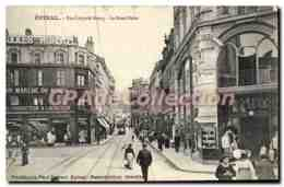 CPA Epinal Rue Leopold Bourg Le Rond Point - Epinal