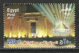 Egypt - 2010 ( Sound & Light - Edfu Temple ) - Pharaohs - MNH (**) - Nuovi