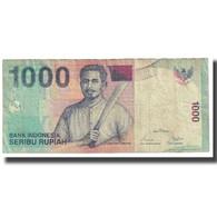 Billet, Indonésie, 1000 Rupiah, 2001, KM:141a, TB - India