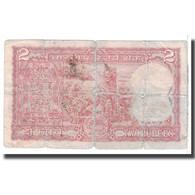 Billet, Inde, 2 Rupees, KM:53f, B - Inde