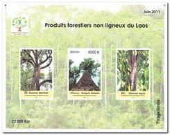 Laos 2011, Postfris MNH, Trees - Comoren (1975-...)