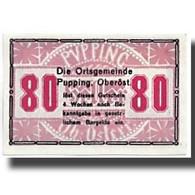 Billet, Autriche, Pupping, 80 Heller, Paysage, SPL, Mehl:792IIc - Austria