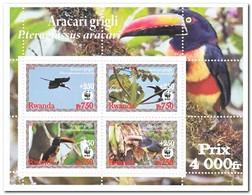 Rwanda 2008, Postfris MNH, Birds, WWF - Rwanda