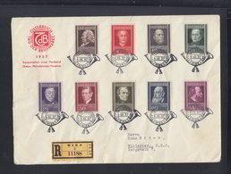Österreich R-FDC 1937 - FDC
