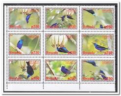 Rwanda 2008, Postfris MNH, Birds - 1990-99: Ongebruikt