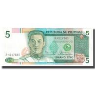 Billet, Philippines, 5 Piso, KM:177a, SPL - Philippinen