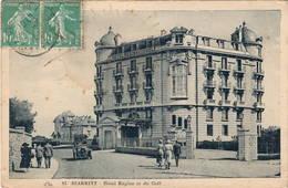 CPA : Biarritz , Hôtel Regina Et Du Golf , Automobile - Biarritz