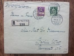 SWITZERLAND - 1934 Registered Davos Platz Cover To Berlin - Switzerland