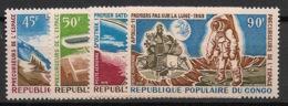 Congo - 1970 - Poste Aérienne PA N°Yv. 101 à 104 - Précurseurs De L'espace - Neuf Luxe ** / MNH / Postfrisch - Afrika