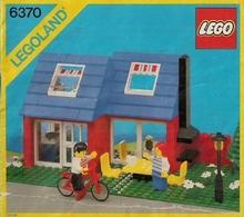 LEGO SYSTEM - Plan Notice - 6370 LEGOLAND. - Plans