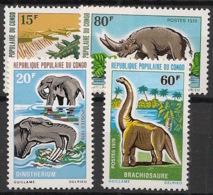 Congo - 1970 - N°Yv. 275 à 278 - Dinosaures - Neuf Luxe ** / MNH / Postfrisch - Briefmarken
