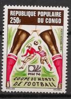 Congo - 1974 - Poste Aérienne PA N°Yv. 188 - Football World Cup 74 - Neuf Luxe ** / MNH / Postfrisch - Coppa Del Mondo