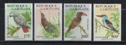 AVES - GABON 1989 - Yvert #660/63 - MNH ** - Cuckoos & Turacos